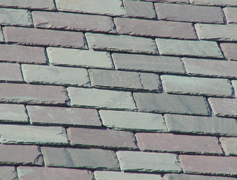 Denver slate roof tiles sample