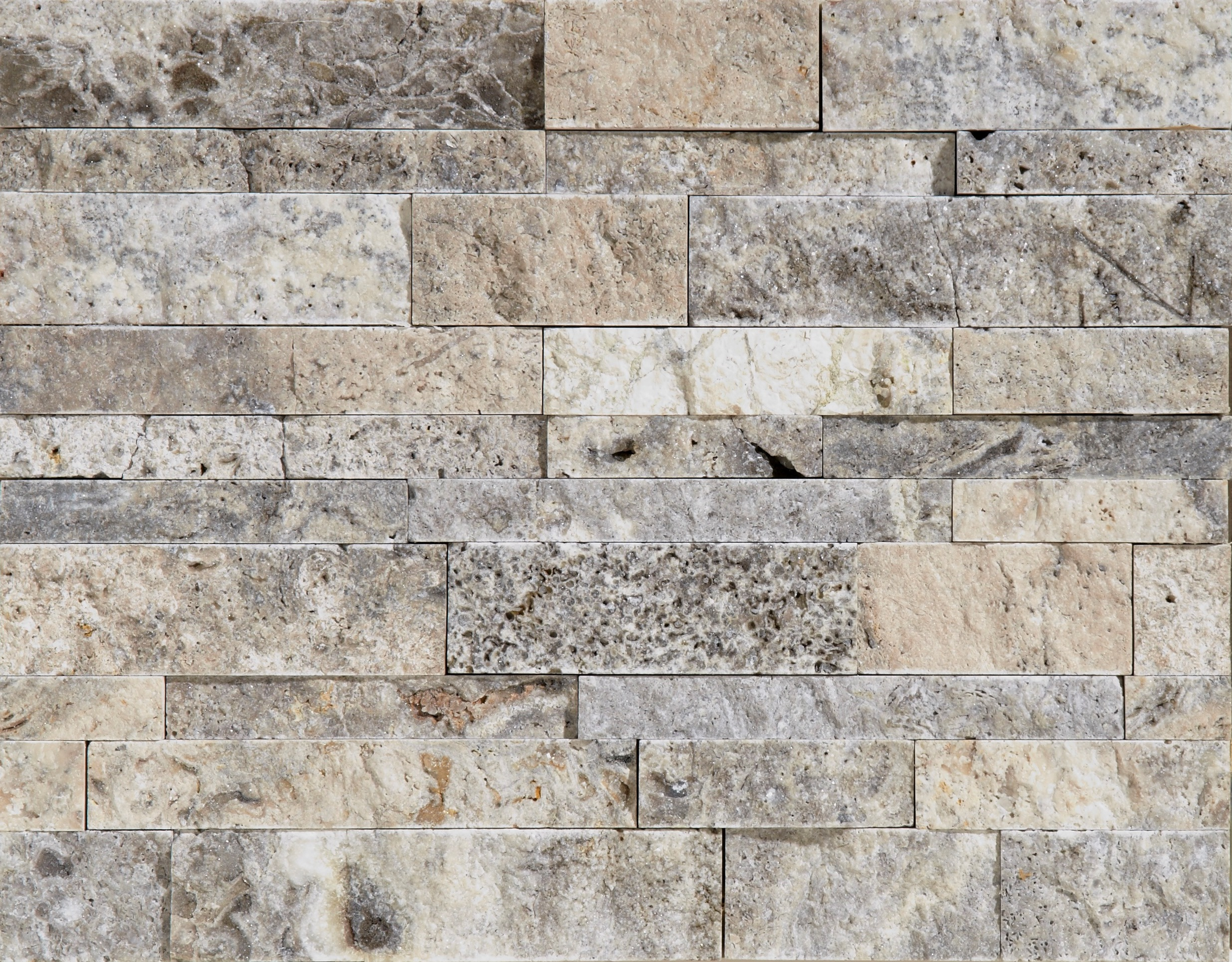 Silver split face ledgestone petraslate tile stone is for Split wall