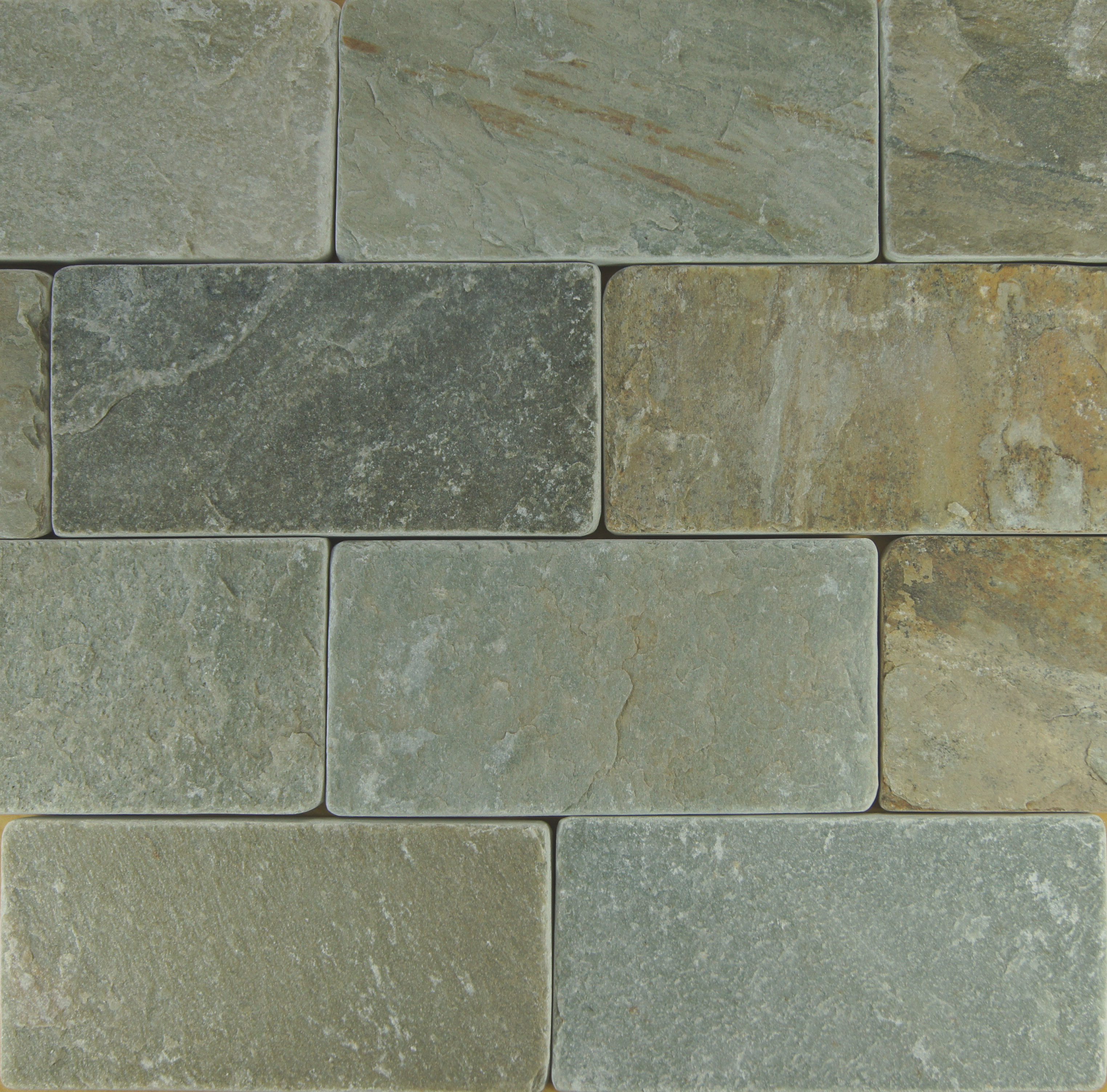 Silver Sands Tumbled Petraslate Tile Amp Stone Is A