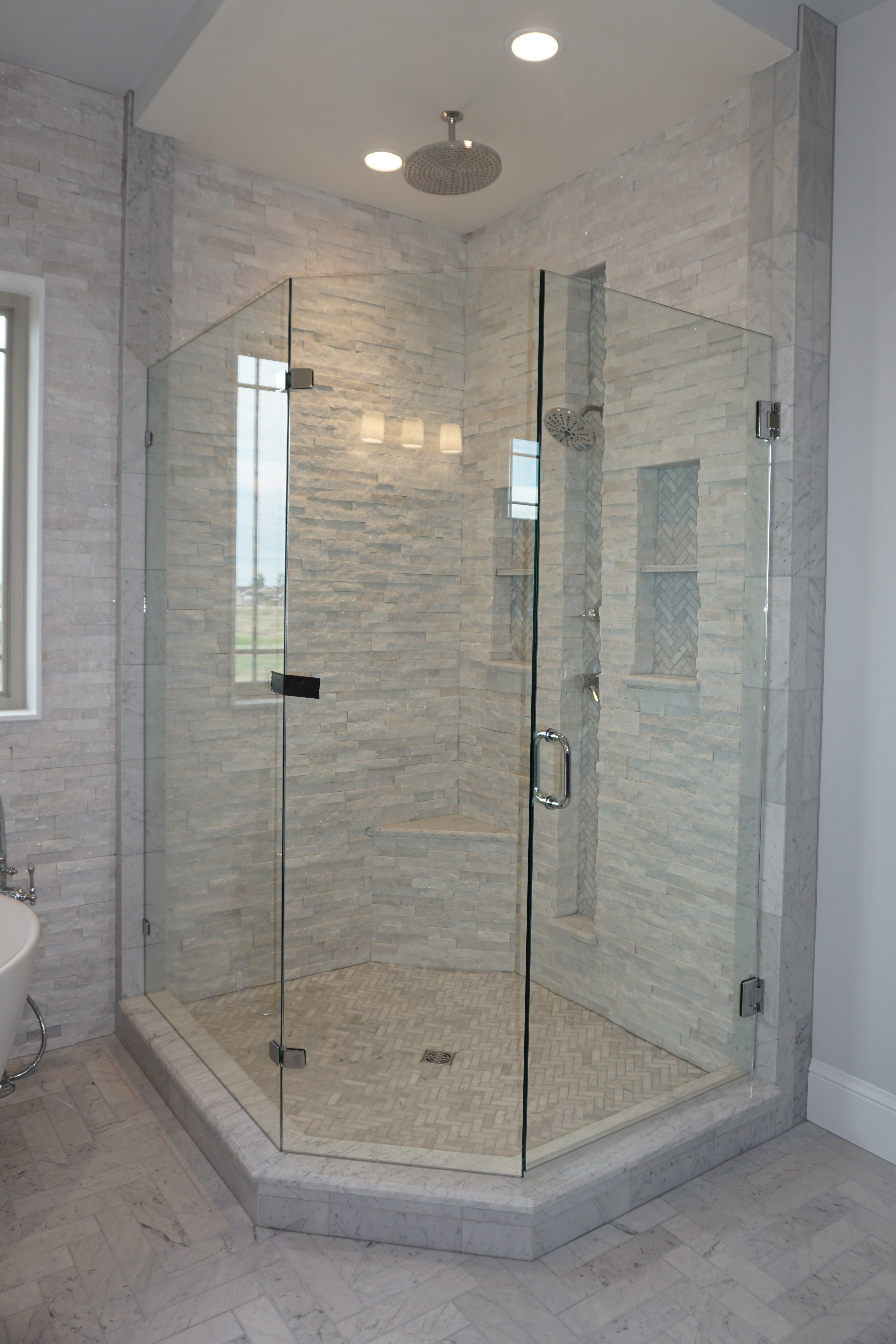 Caring For Your Beautiful Travertine Shower Tile