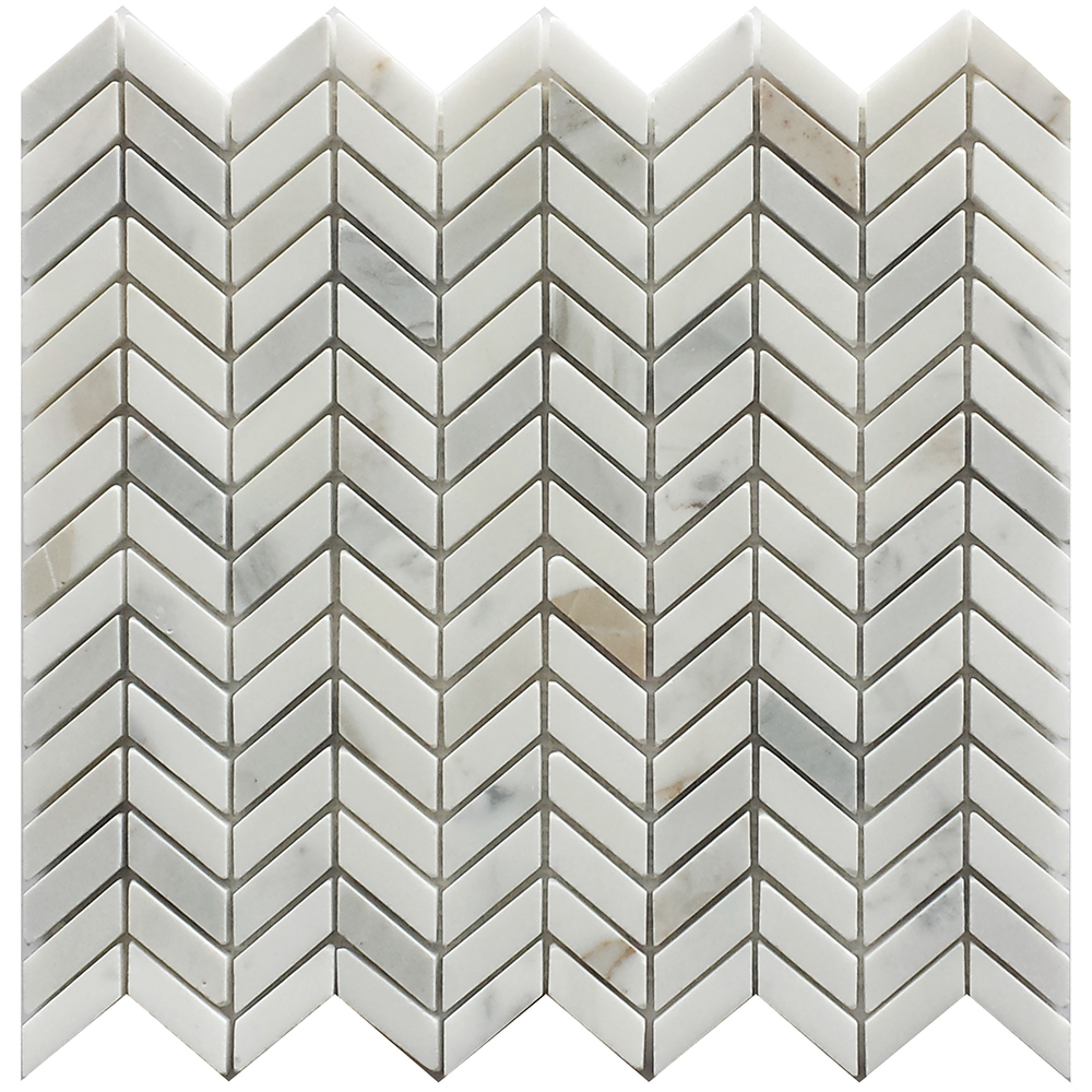 Calacatta Gold Chevron Petraslate Tile Amp Stone Is A