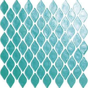 glass backsplash tile