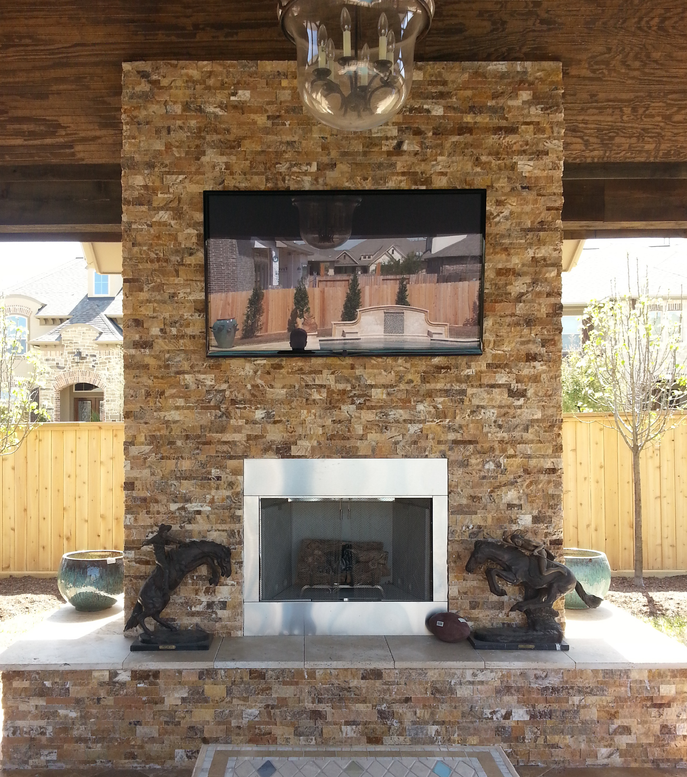 Interior Stone Wall Fireplace Prefab Fieldstone Fireplaces: What Are Stone Veneer Panels?