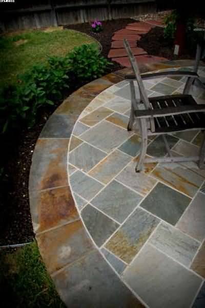 Create An Exceptional Patio And Walkway With Top Quality Outdoor Slate Tile