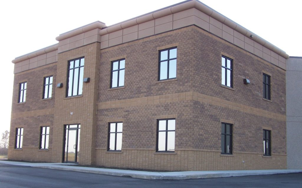 Moderra Masonry Veneer for a commercial building