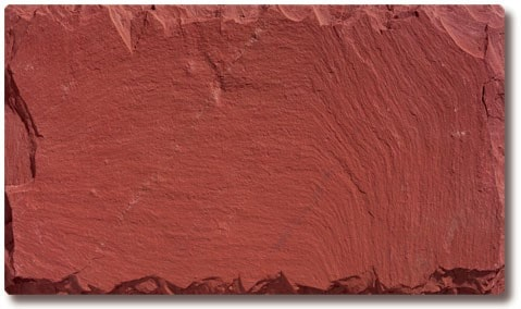 unfading red slate roofing tile