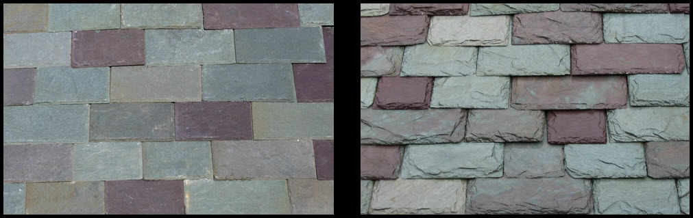 New Vermont Slate Roofing Patterns